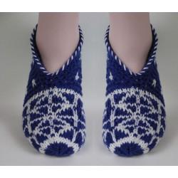 ++altes blau-weiß Muster